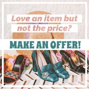 Love an item but not the price?Send us an offer.XO